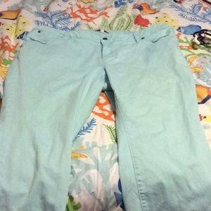 Talbots ladies cropped pants